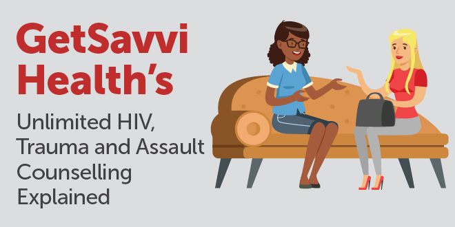 HIV, Trauma and Assault Counselling Infographic